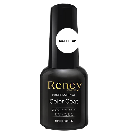 Lakier Reney Top Matte Velvet No Wipe 10ml