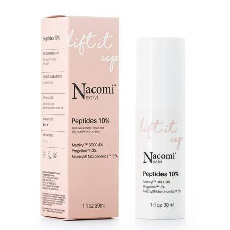 Nacomi Next Level Serum do twarzy Lift it Up Peptides 10% 30ml