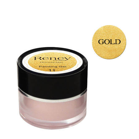Reney Painting Gel Żel do zdobień Gold no. 11 8ml